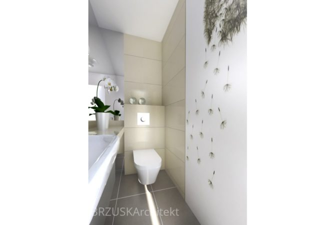 aranżacja mała łazienka aranżacje fototapeta