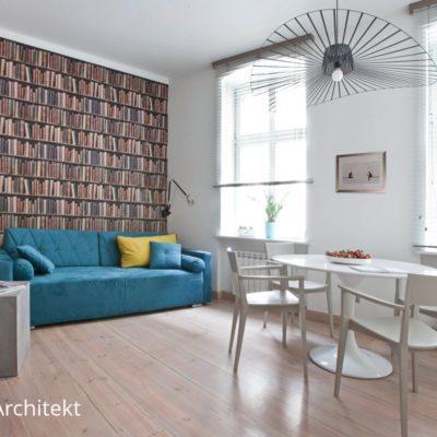 projekt apartamentu w kamienicy w Poznaniu