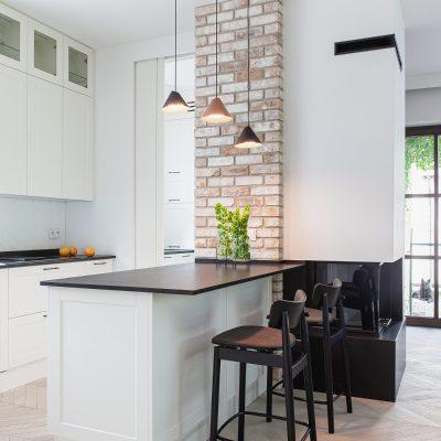 dom 2019 wyspa kuchenna kominek